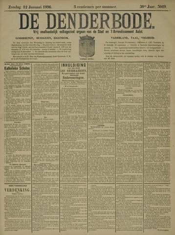 De Denderbode 1896-01-12
