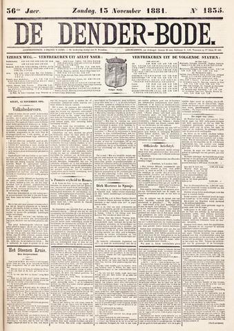 De Denderbode 1881-11-13