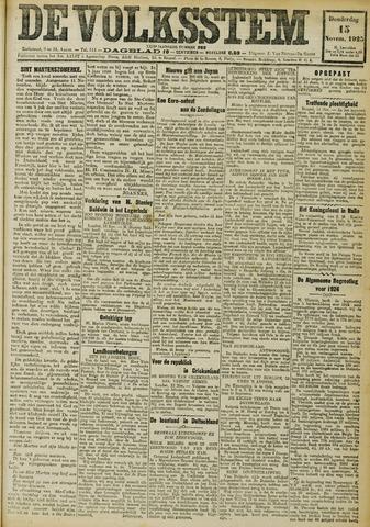 De Volksstem 1923-11-15