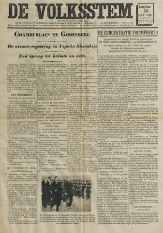 De Volksstem 1938-09-24