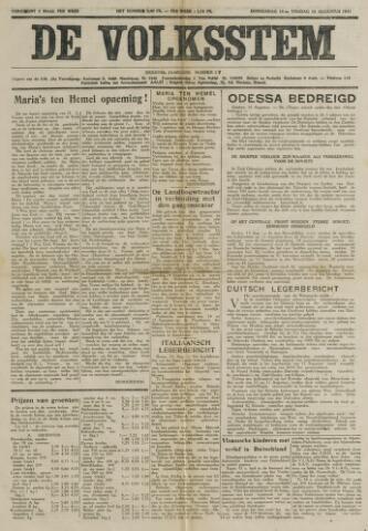 De Volksstem 1941-08-14