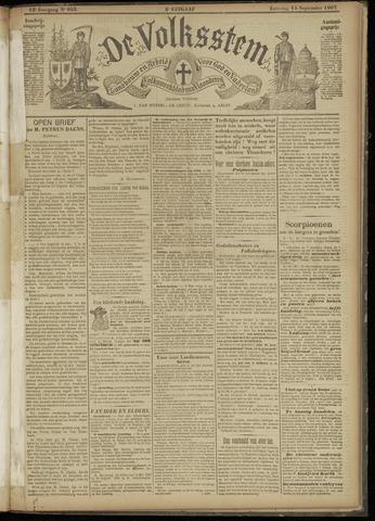 De Volksstem 1907-09-14
