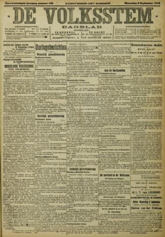 De Volksstem 1915-09-08