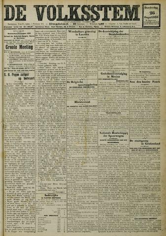 De Volksstem 1926-08-26