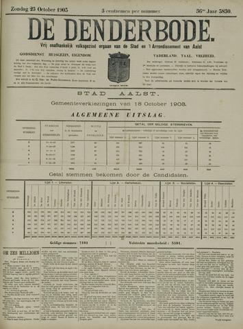 De Denderbode 1903-10-25