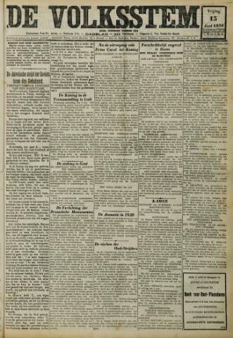 De Volksstem 1930-06-13