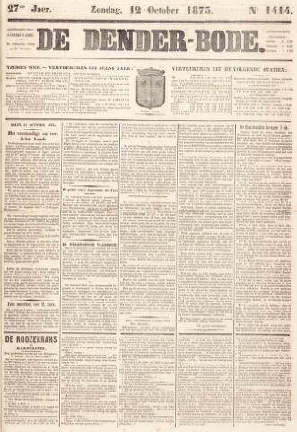 De Denderbode 1873-10-12