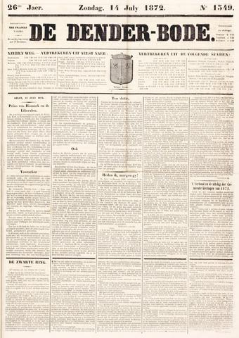 De Denderbode 1872-07-14