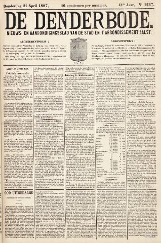 De Denderbode 1887-04-21