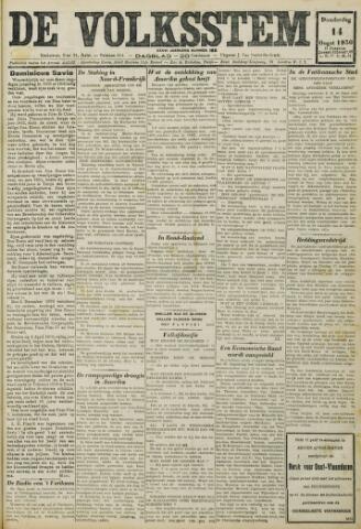 De Volksstem 1930-08-14