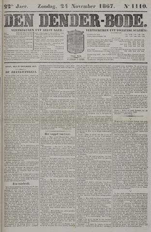 De Denderbode 1867-11-24