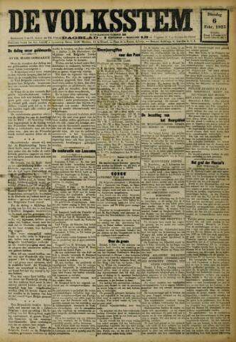 De Volksstem 1923-02-06