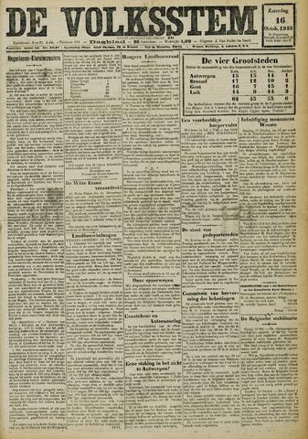 De Volksstem 1926-10-16