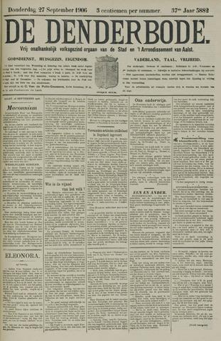 De Denderbode 1906-09-27