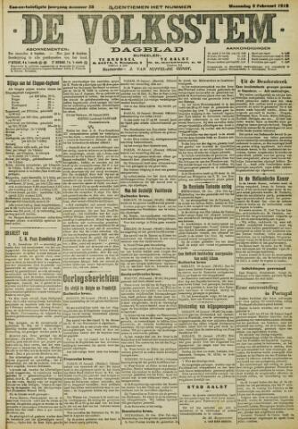 De Volksstem 1915-02-03