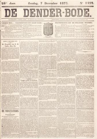 De Denderbode 1873-12-07