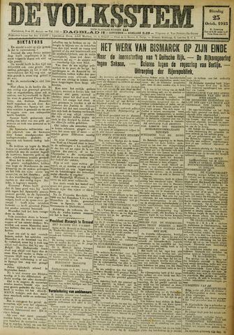 De Volksstem 1923-10-23