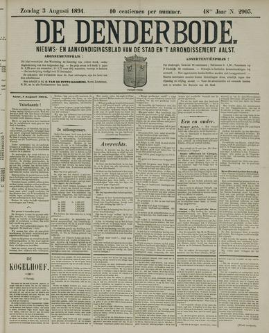 De Denderbode 1894-08-05