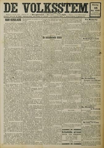De Volksstem 1926-05-18