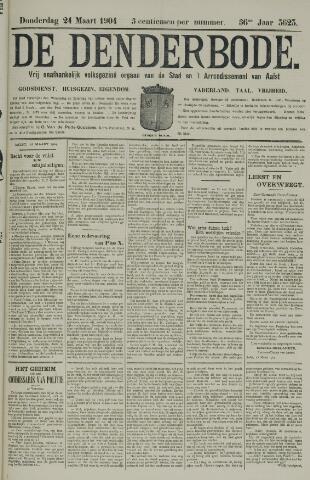De Denderbode 1904-03-24