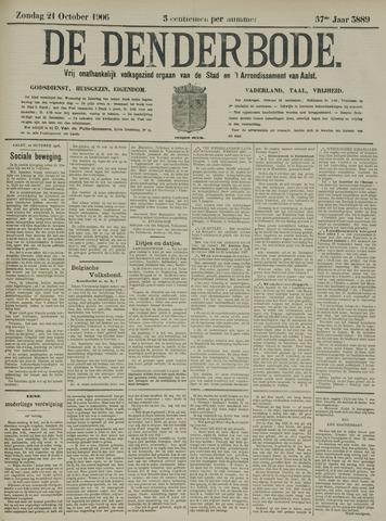 De Denderbode 1906-10-21