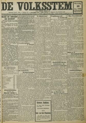 De Volksstem 1930-01-29