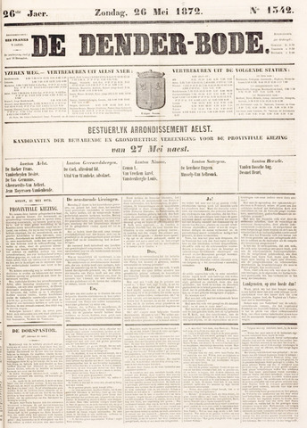 De Denderbode 1872-05-26