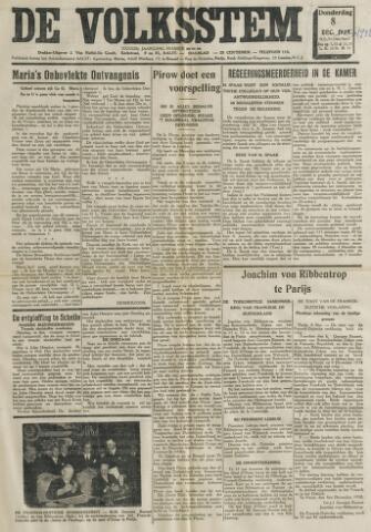 De Volksstem 1938-12-08