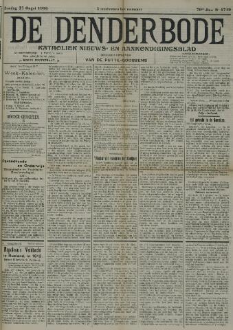De Denderbode 1916-08-27