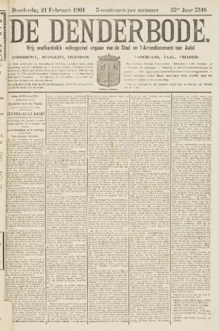 De Denderbode 1901-02-21