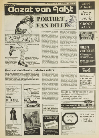 Nieuwe Gazet van Aalst 1984-10-26