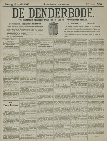 De Denderbode 1906-04-15