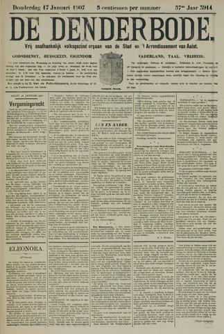 De Denderbode 1907-01-17