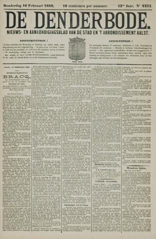 De Denderbode 1888-02-16