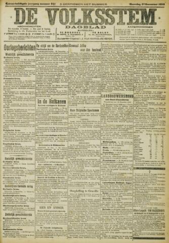 De Volksstem 1915-12-27