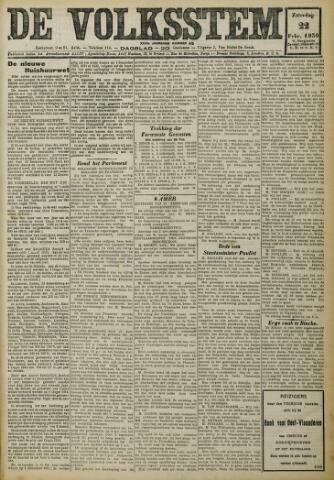 De Volksstem 1930-02-22