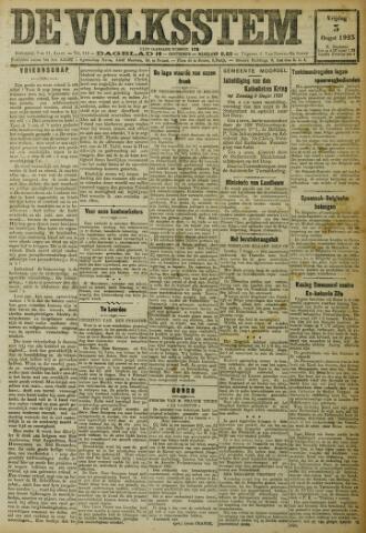 De Volksstem 1923-08-03