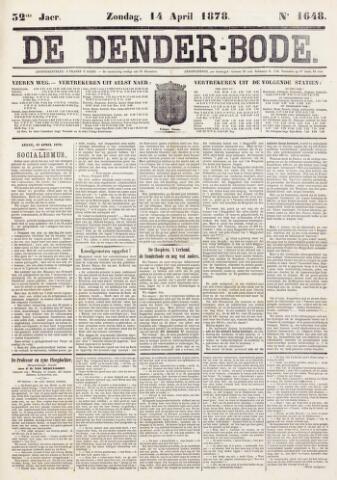 De Denderbode 1878-04-14