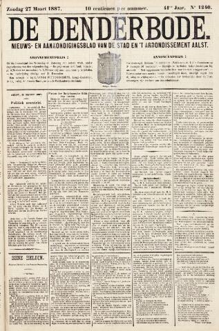 De Denderbode 1887-03-27