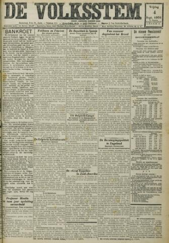 De Volksstem 1931-09-04