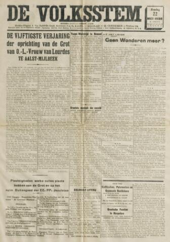 De Volksstem 1938-05-22