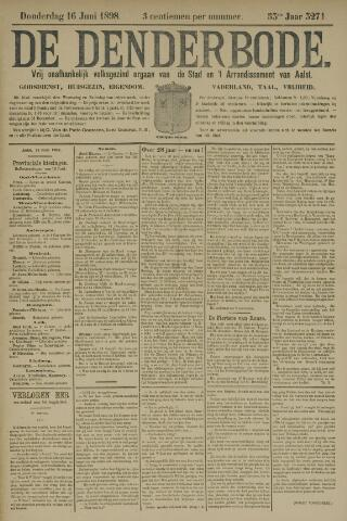 De Denderbode 1898-06-16
