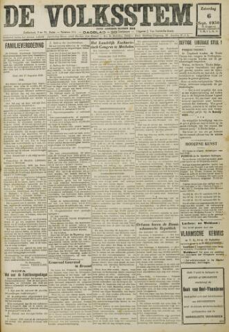De Volksstem 1930-09-06
