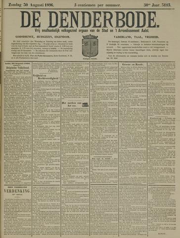 De Denderbode 1896-08-30