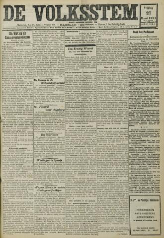 De Volksstem 1931-03-27