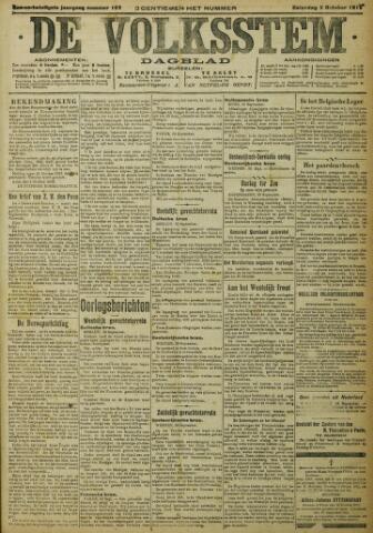 De Volksstem 1915-10-02