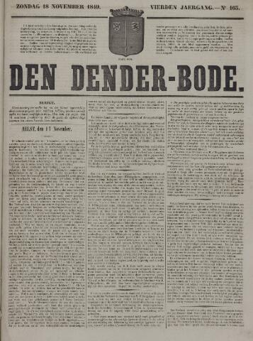 De Denderbode 1849-11-18