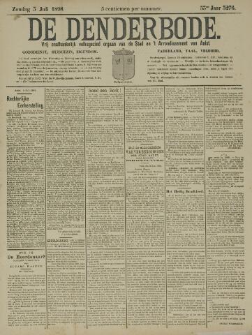 De Denderbode 1898-07-03