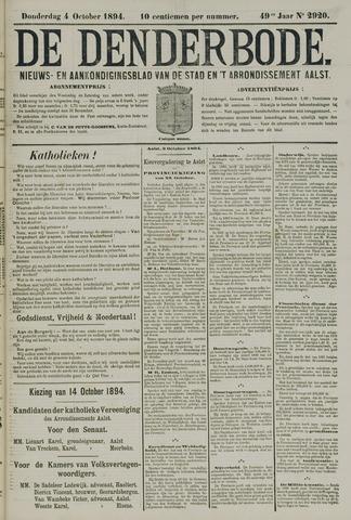 De Denderbode 1894-10-04