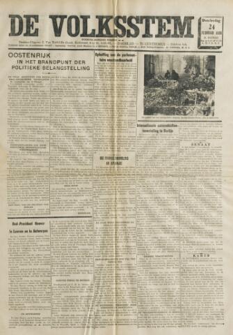 De Volksstem 1938-02-24